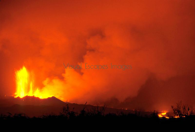 Cerro Azul, Volcan Bravo 1998