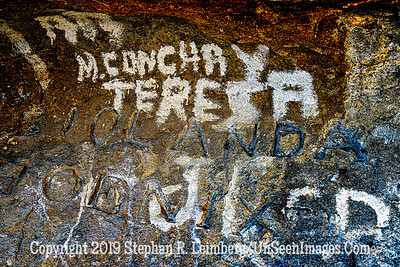Writing on Cave Wall II Copyright 2019 Steve Leimberg UnSeenImages Com _DSC4580