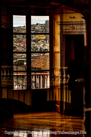 Through the Window Quito Copyright 2020 Steve Leimberg UnSeenImages Com _DSC1132