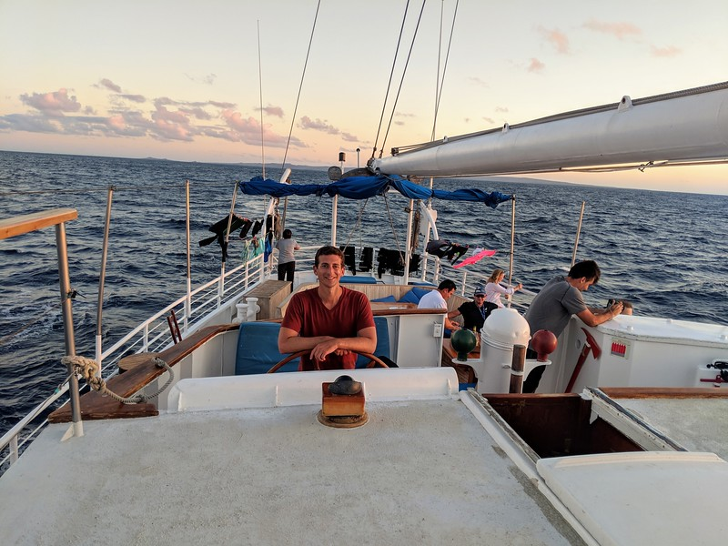 Galapagos Islands Trip - Sailing