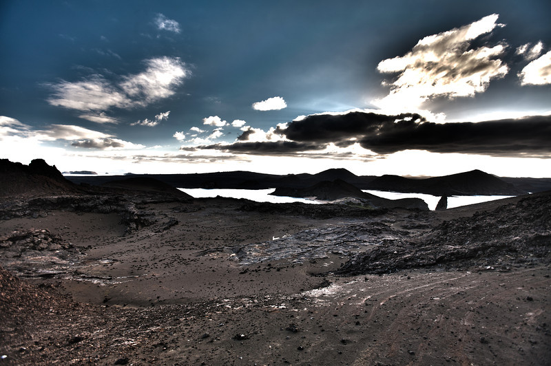 HDR4: I love the synergy of the bare landscape leading into the ominously dramatic horizon.