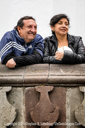 Couple Watching Political Rally Quito Copyright 2020 Steve Leimberg UnSeenImages Com SC5314