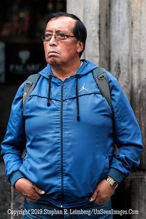 Man in Quito Copyright 2020 Steve Leimberg UnSeenImages Com _DSC5359
