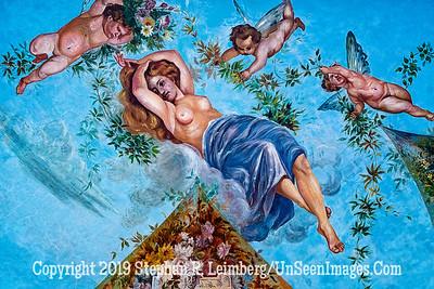 Ceiling Fresco Quito Copyright 2020 Steve Leimberg UnSeenImages Com _DSC5370