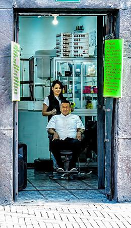 The Haircut Quito Copyright 2020 Steve Leimberg UnSeenImages Com _DSC5078