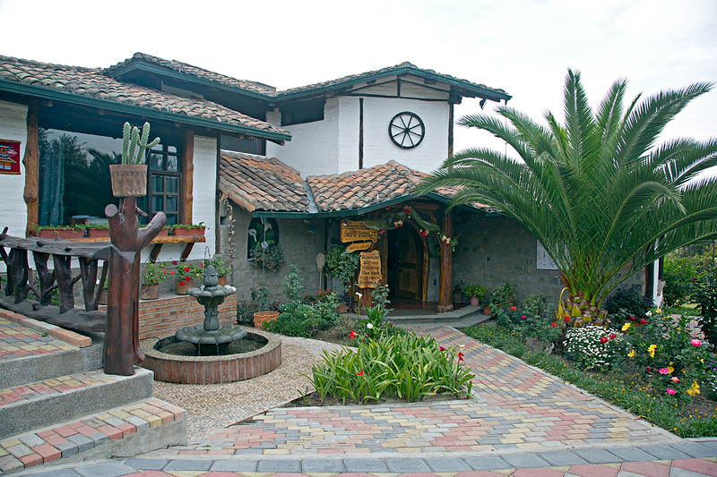 We arrived at Quito, the capital of Ecuador, and stayed at this nice lodge before flying to Santa Cruz, our first destination in the Galapagos.