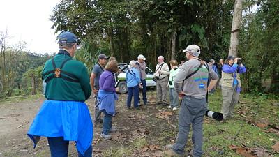 Group at Refugio Paz Del Las Aves