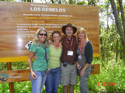 Los Gemelos Group members:  Joyce, Karen, Mike, and Bev
