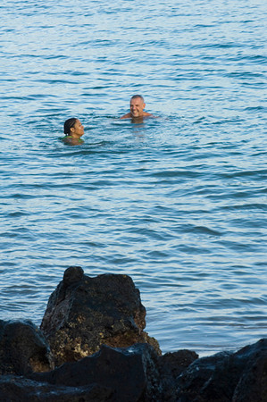 Hope Rias & Eduardo Del SolarPuerto Baquerizo Moreno, San Cristobal Island, GALAPAGOS, ECUADOR