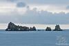 Rock formation off Floreana Island~Galapagos, Ecuador