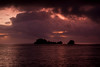 Devil's Crown at Sunrise off Floreana