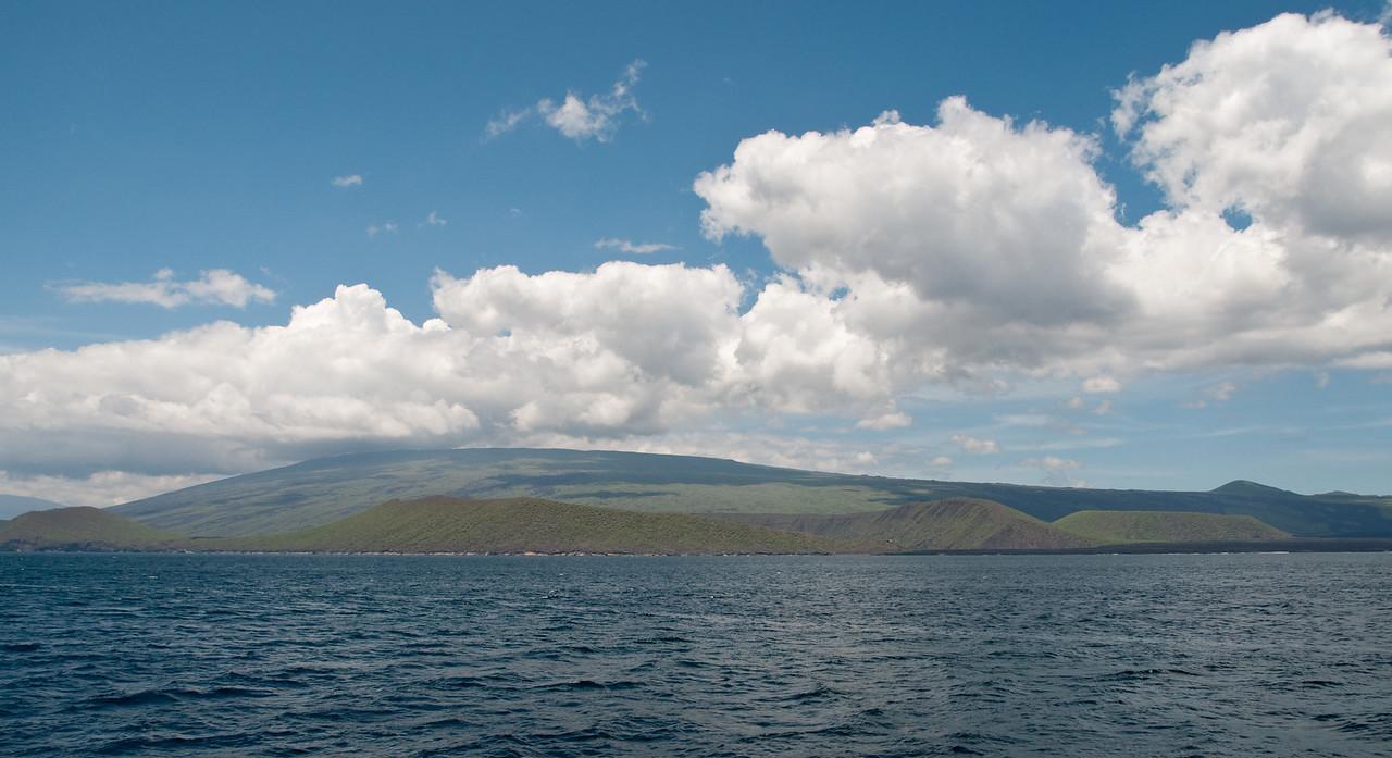 A shield volcano -  a common sight