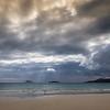Sandy Beach and Clouds, Floreanna Island