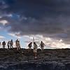 Hiking on Lava Floes, Isabela Island