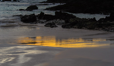 Last Light on the Incoming Tide
