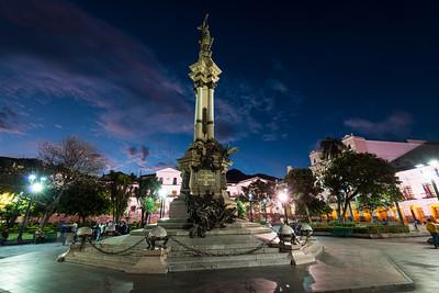 Ecuador City Center Square