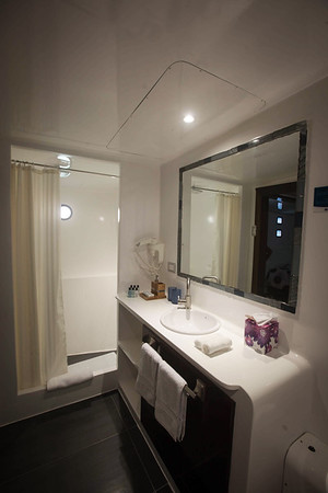 Bathroom on the Royal Galapagos