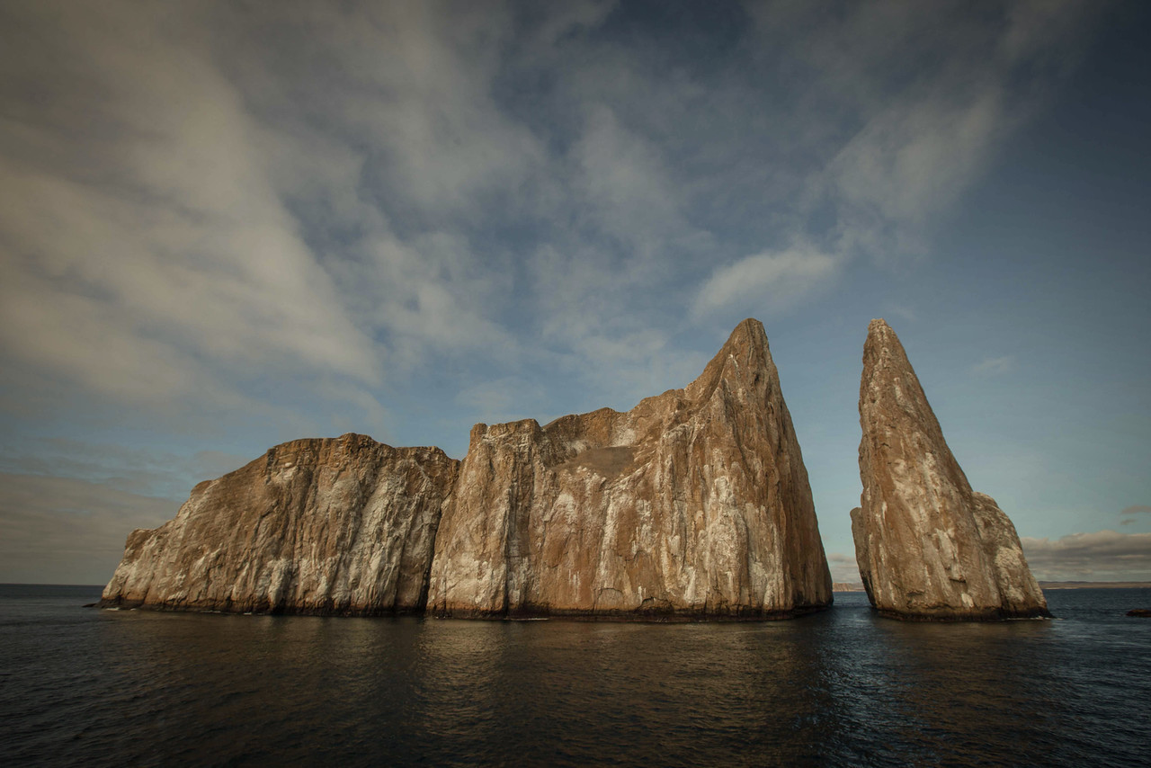 Kicker Rock - located off the western shore of San Cristobal Island