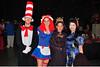 LtoR:<br /> Adam Cofer - Cat in the Hat<br /> Tiffany Cofer - Raggedy Ann<br /> Terri Shults - Medusa<br /> Dori Trivette - Geisha