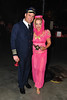 Eddie & Robin Grant dressed as Major Nelson and Jeannie from I Dream of Jeannie