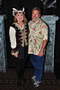 Sarah & Robby Roberts dressed as a Pirate and a Beach boy