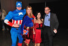 LtoR: David Conover, Robin Hays Conover, Lora Ankar, & Jeff Boutwell dressed as <br /> LtoR: Captain America, Supergirl, the Devil wears Prada, and Revenge of the Nerds