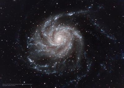 M101 final ZWO183 1321MM-