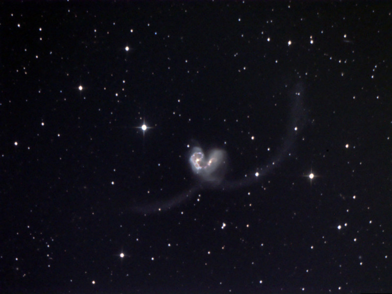 The Antennae Galaxies NGC 4038 and 4039
