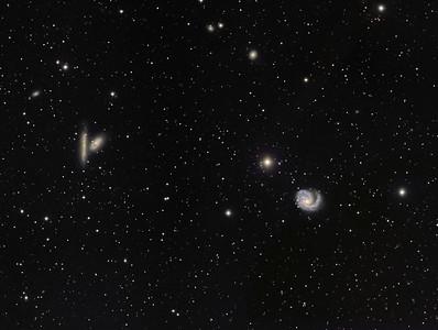 M-99  NGC-4302  NGC-4298