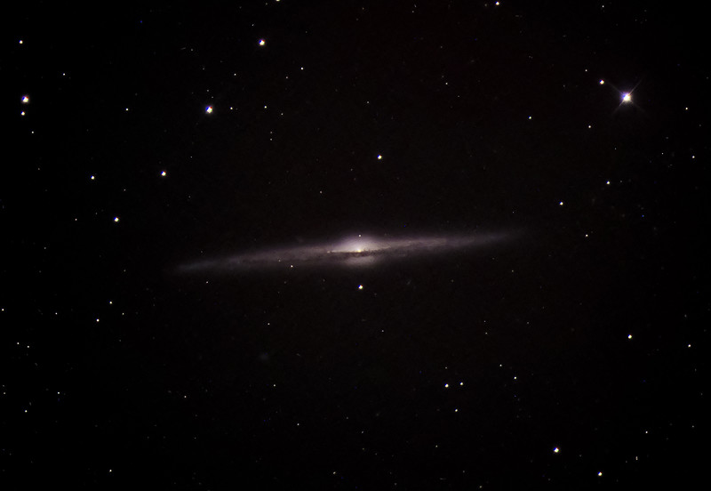 NCG  4565 The Needle Galaxy