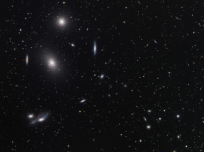Markarian Chain of Galaxies