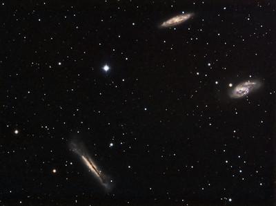 M65, M66, NGC3628 - Leo Triplet