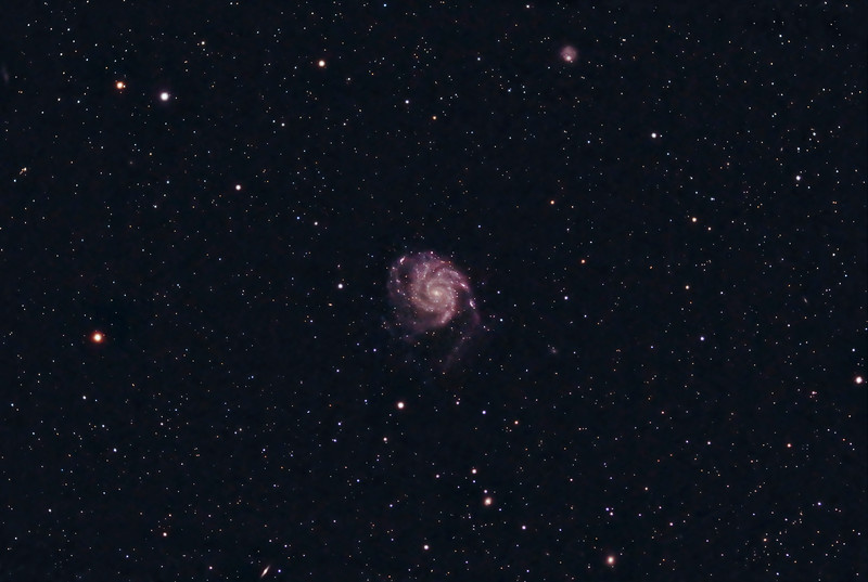 M101 - The Pinwheel Galaxy (Finished)