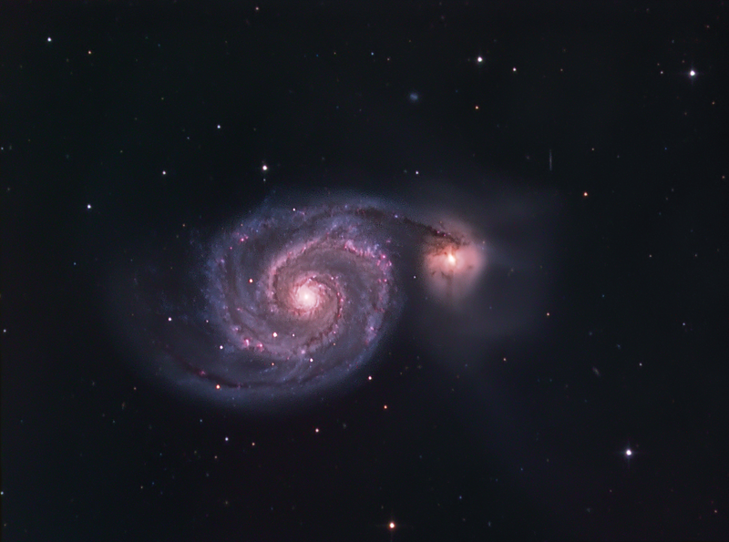 WIrlpool Galaxy - M51