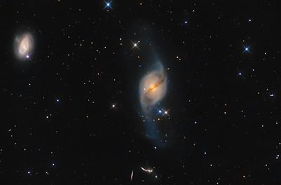 NGC3718 Galacy