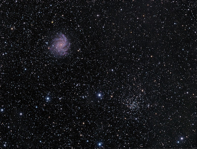 NGC-6946 The Fireworks Galaxy