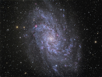 M-33 The Triangulum Galaxy