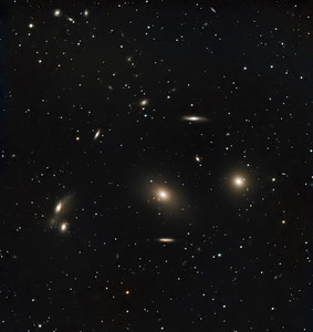 M86 & Galactic Neighbors -- Virgo Constellation