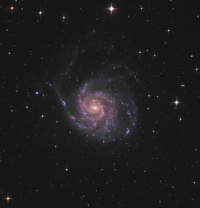 M101 -- Ursa Major Constellation