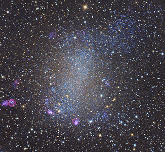 Barnard's Galaxy     NGC6822