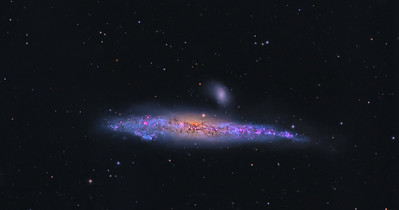 The Whale Galaxy      NGC4631