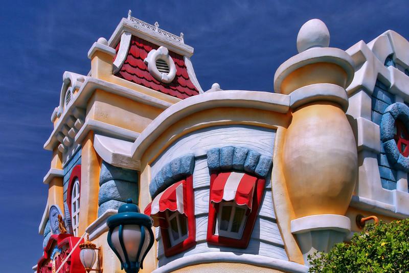 Toon City in Disneyland