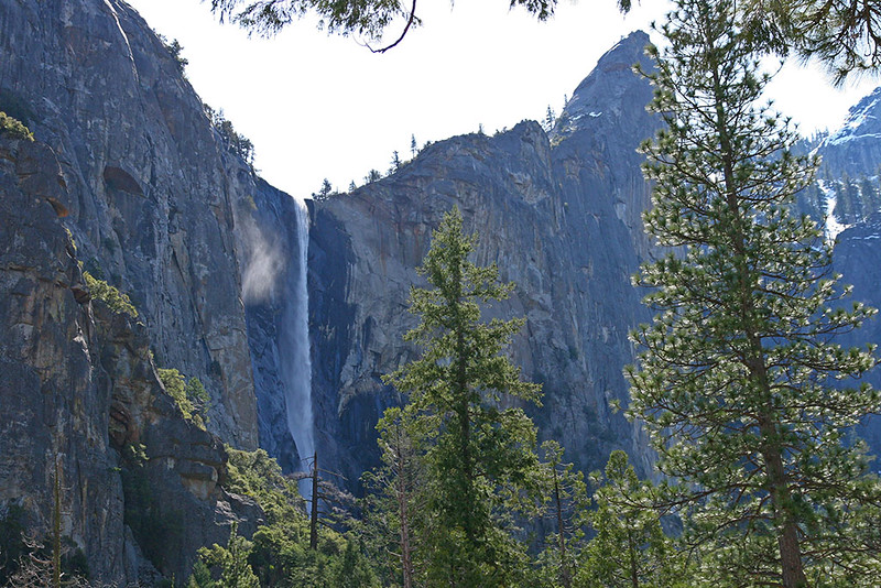Cachoeira no Parque Yosemite
