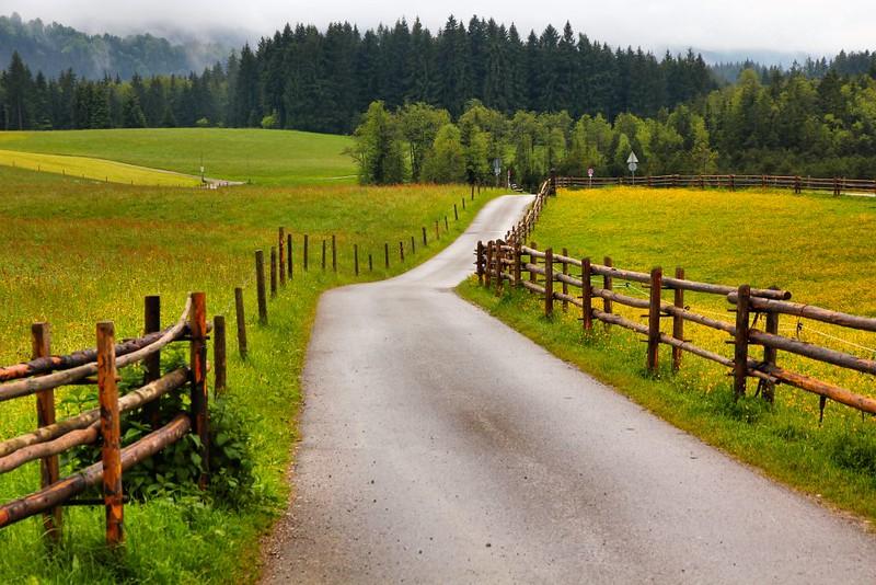 Caminho no Interior da Baviera