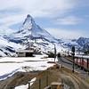 Estrada de Ferro em Zermatt
