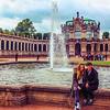 Casal em Dresden