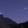 Começo da Noite no Rio de Janeiro