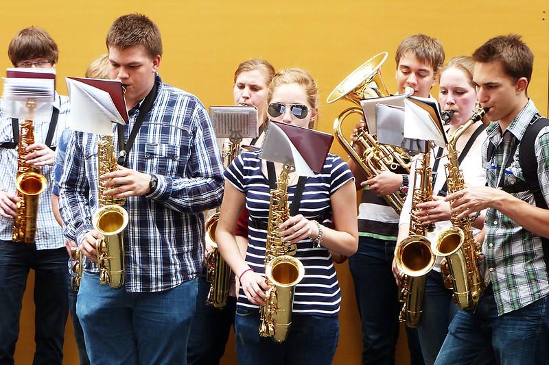 Músicos em Luxemburgo