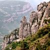 Montanhas em Montserrat