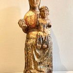 12 th century Our Lady with little Jesus
